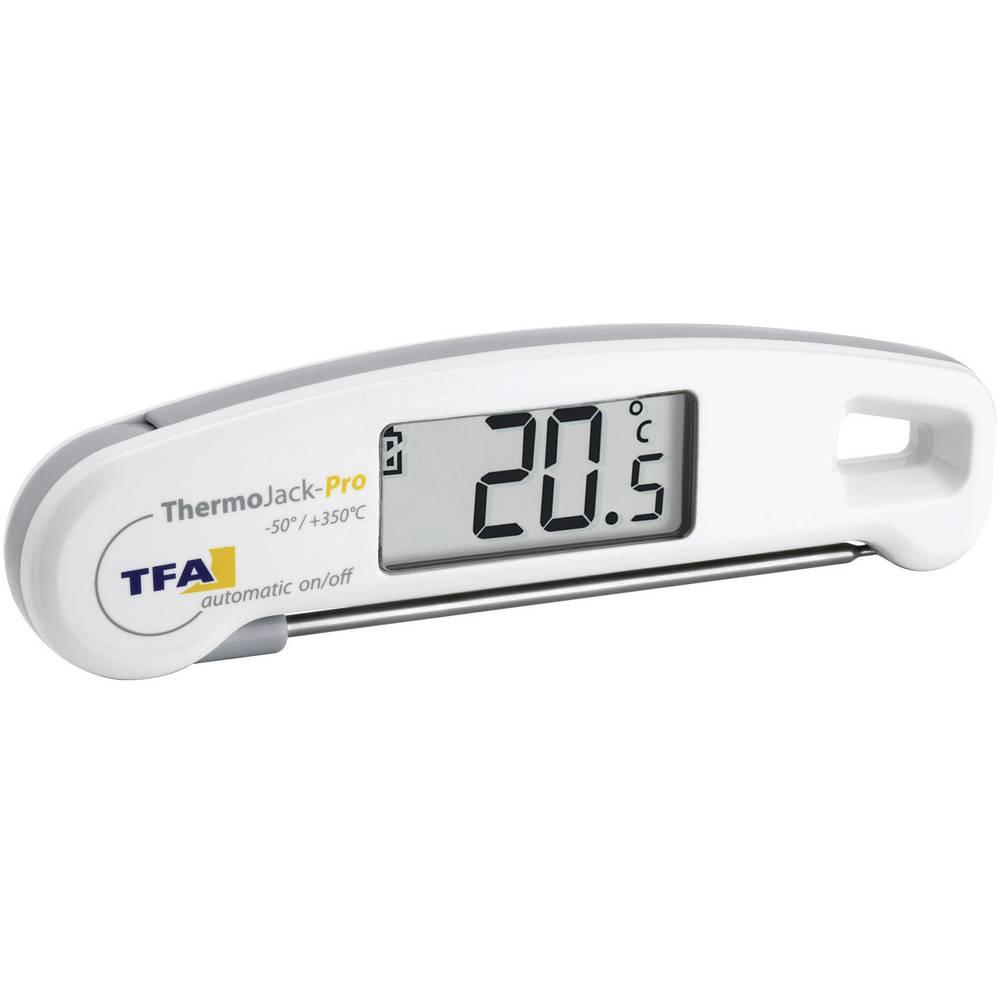TFA Dostmann Thermo Jack PRO vpichovací teploměr (HACCP) Teplotní rozsah -50 do 350 °C typ senzoru K kompatibilní s HACCP