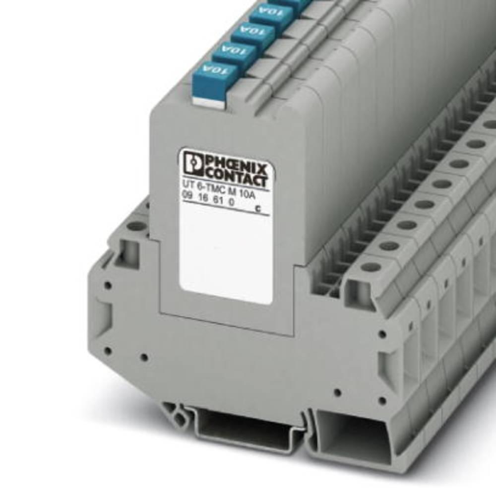 Phoenix Contact UT 6-TMC M 0,5A jistič teplotní 240 V/AC 0.5 A 6 ks