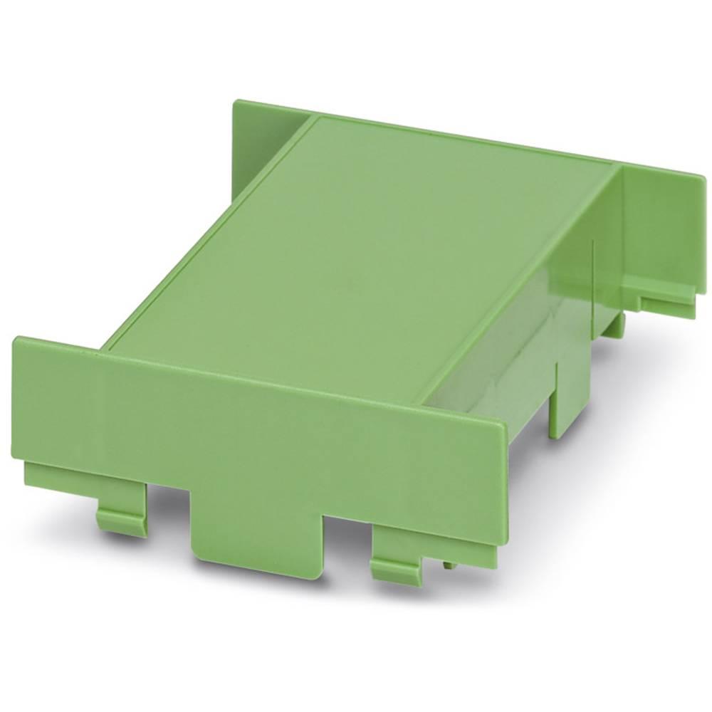 Phoenix Contact EG 90-A/PC GN kryt pouzdra na DIN lištu plast 10 ks