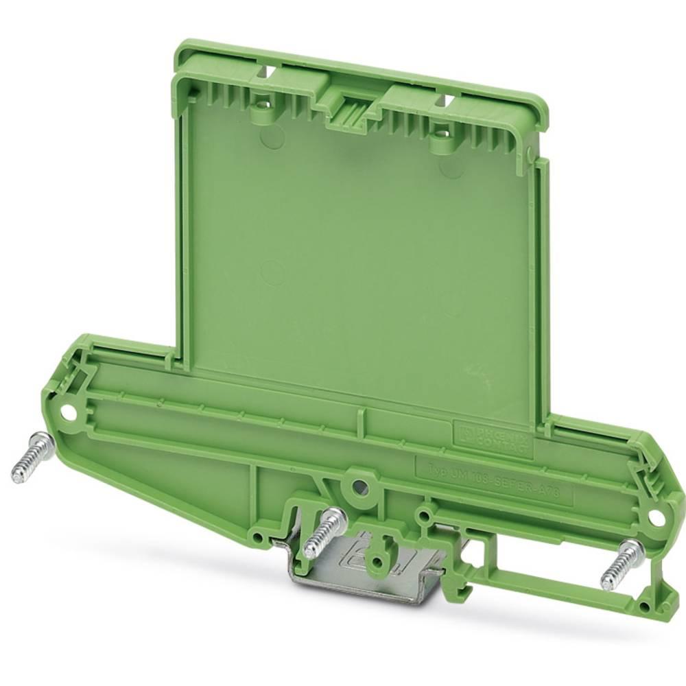 Phoenix Contact UM108-SEFE/R-A73 boční díl pouzdra na DIN lištu plast 10 ks