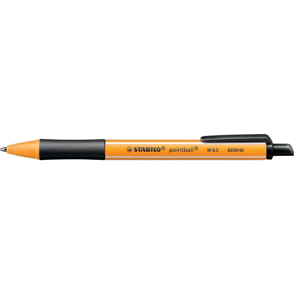 Stabilo pointball 6030/46 kuličkové pero 0.5 mm Barva písma: černá 1 ks