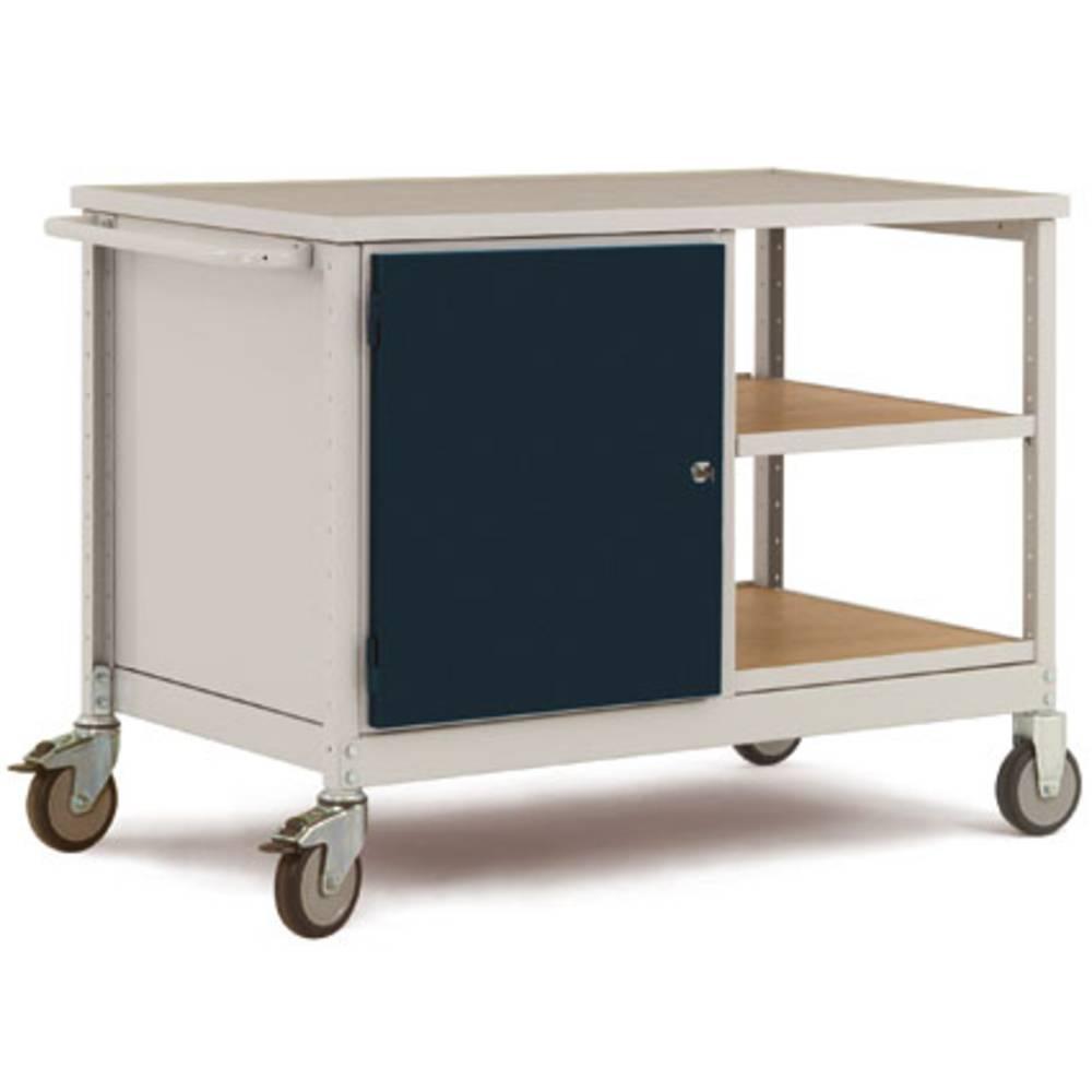 Manuflex LW1003.7035 dílenský vozík ocel práškově lakováno Zatížení (max.): 250 kg světle zelená
