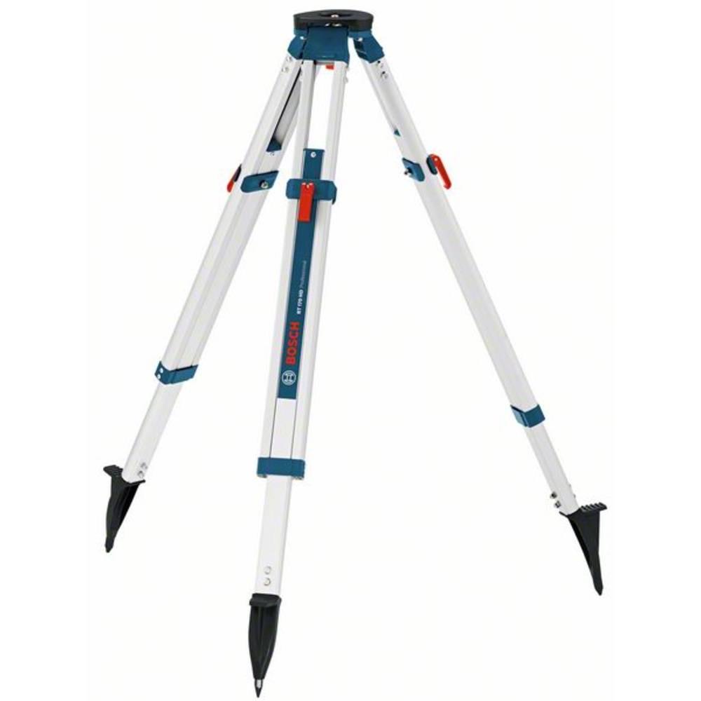 "Bosch Professional BT 170 HD 0601091300 plochá hlava stativu 5/8"" Velikost (max.)=165 cm"