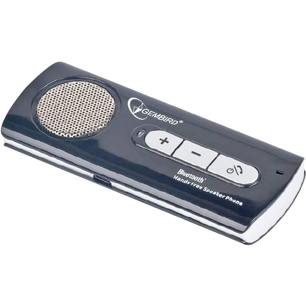 Gembird BTCC002 handsfree s Bluetooth doba hovoru (max.): 7.5 h