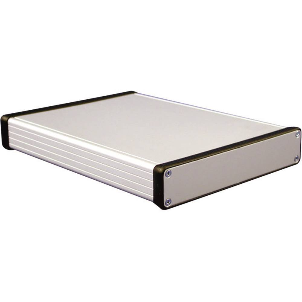 Hliníkové pouzdro 1455 Hammond Electronics 1455T2201, 223 x 160 x 51.5 , hliník