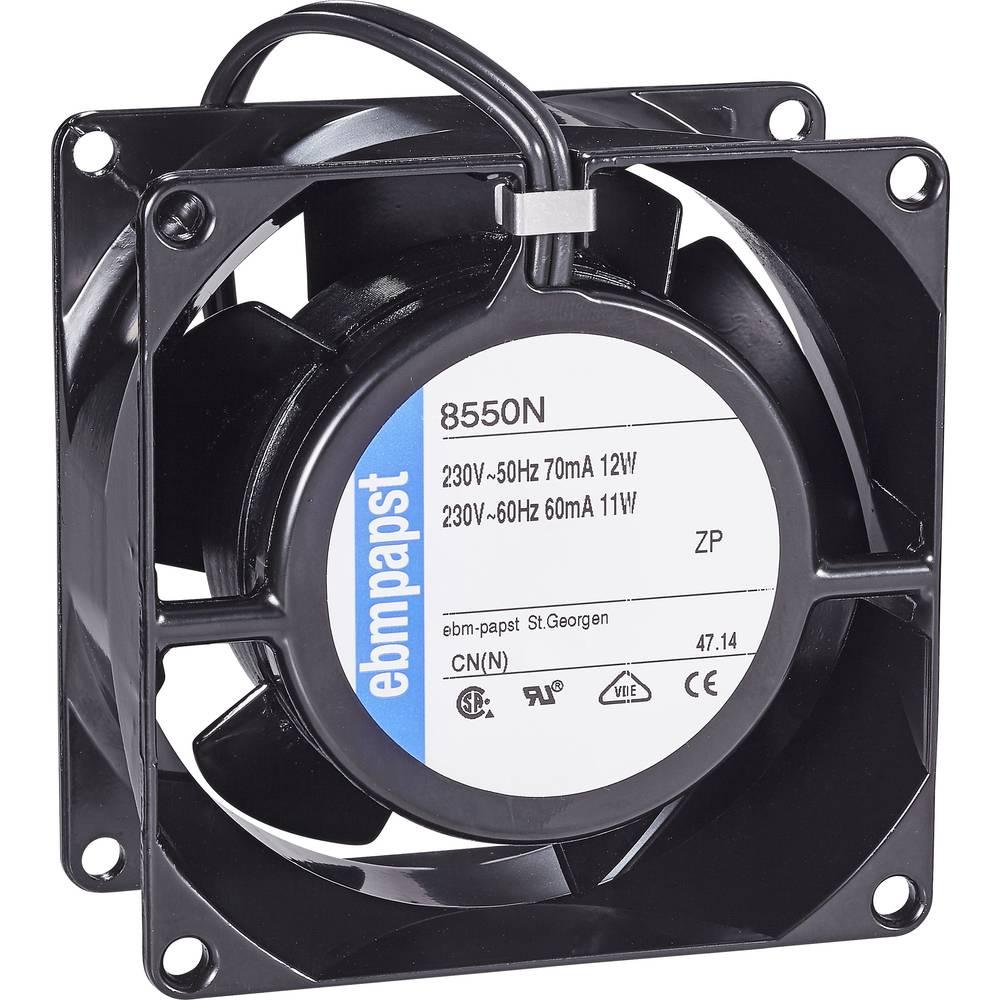 EBM Papst 8550 N axiální ventilátor 230 V/AC 50 m³/h (d x š x v) 80 x 80 x 38 mm