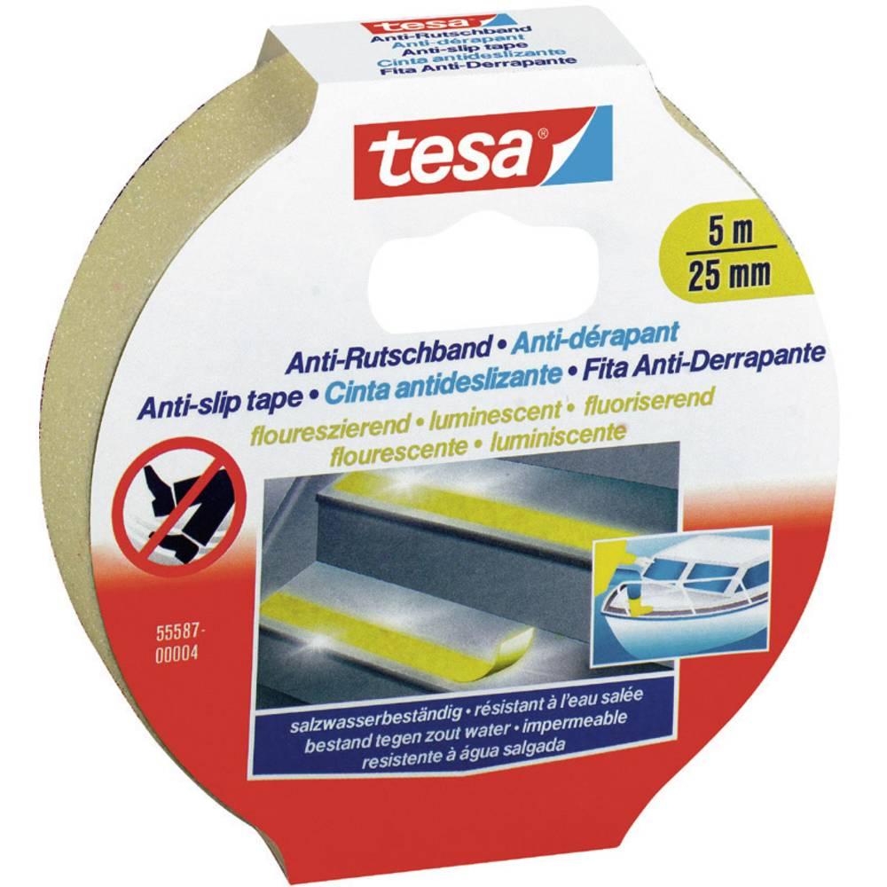 tesa 55580-00000-11 protiskluzová páska bílá (d x š) 5 m x 25 mm 1 ks