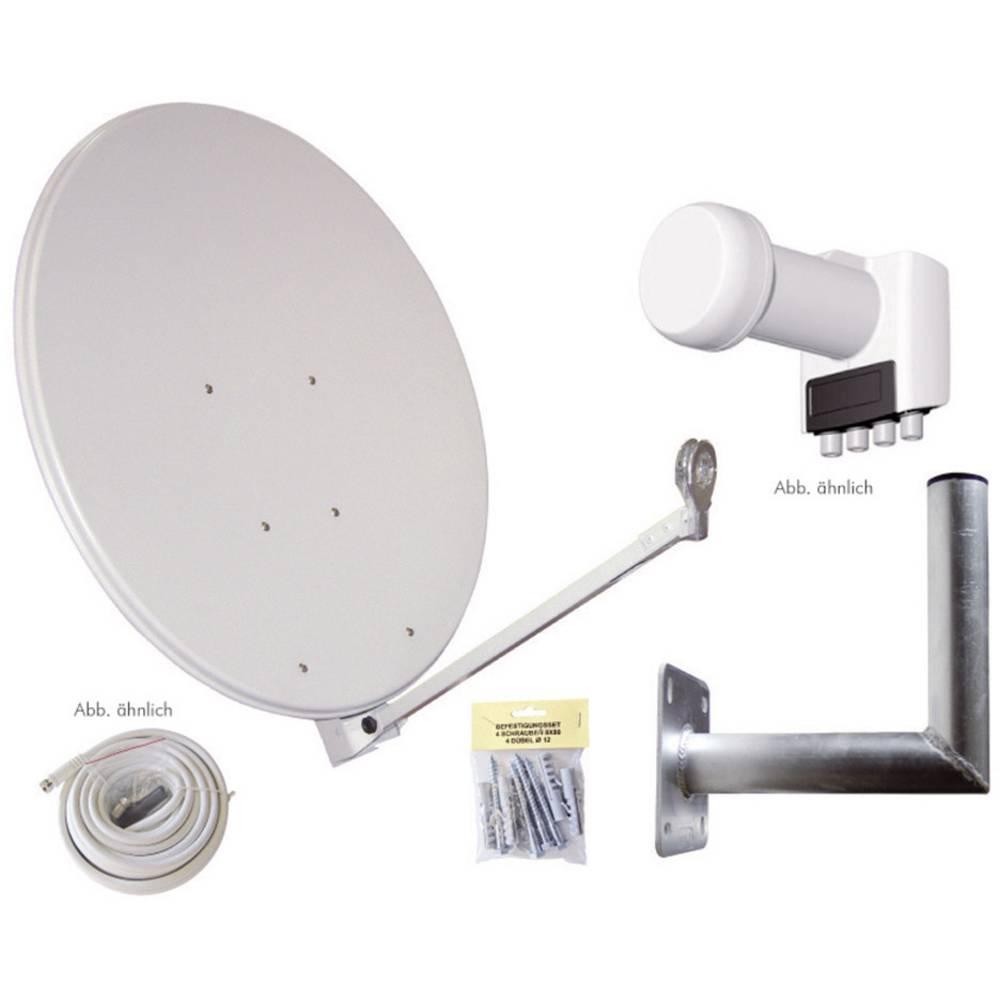 AllVision SAH-S 4000/80-QUAD Set satelit bez přijímače Teilnehmer-Anzahl 4 80 cm