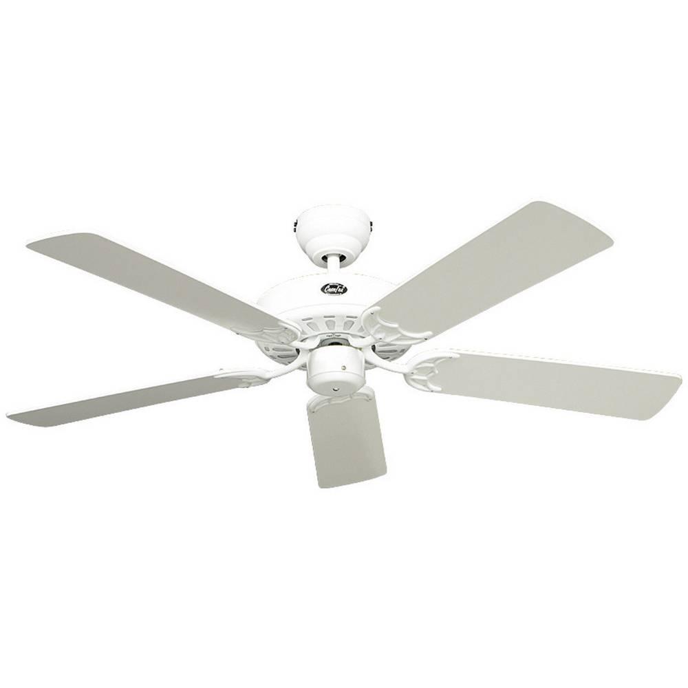 CasaFan Classic Royal 132 WE stropní ventilátor (Ø) 132 cm Barva listu: bílá Barva pouzdra: bílá