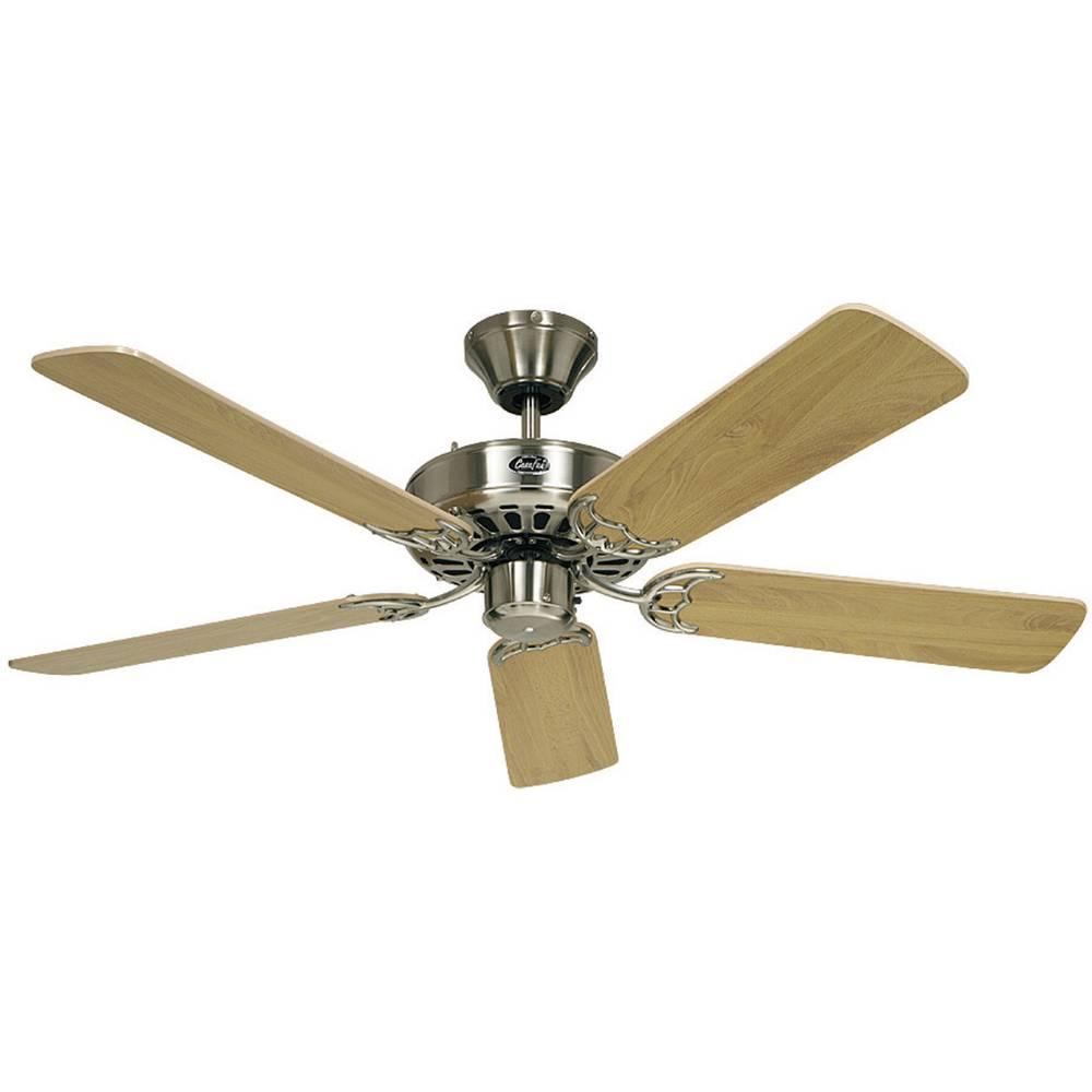 CasaFan Classic Royal 132 BN stropní ventilátor (Ø) 132 cm Barva listu: buk Barva pouzdra: chrom (kartáčovaný)