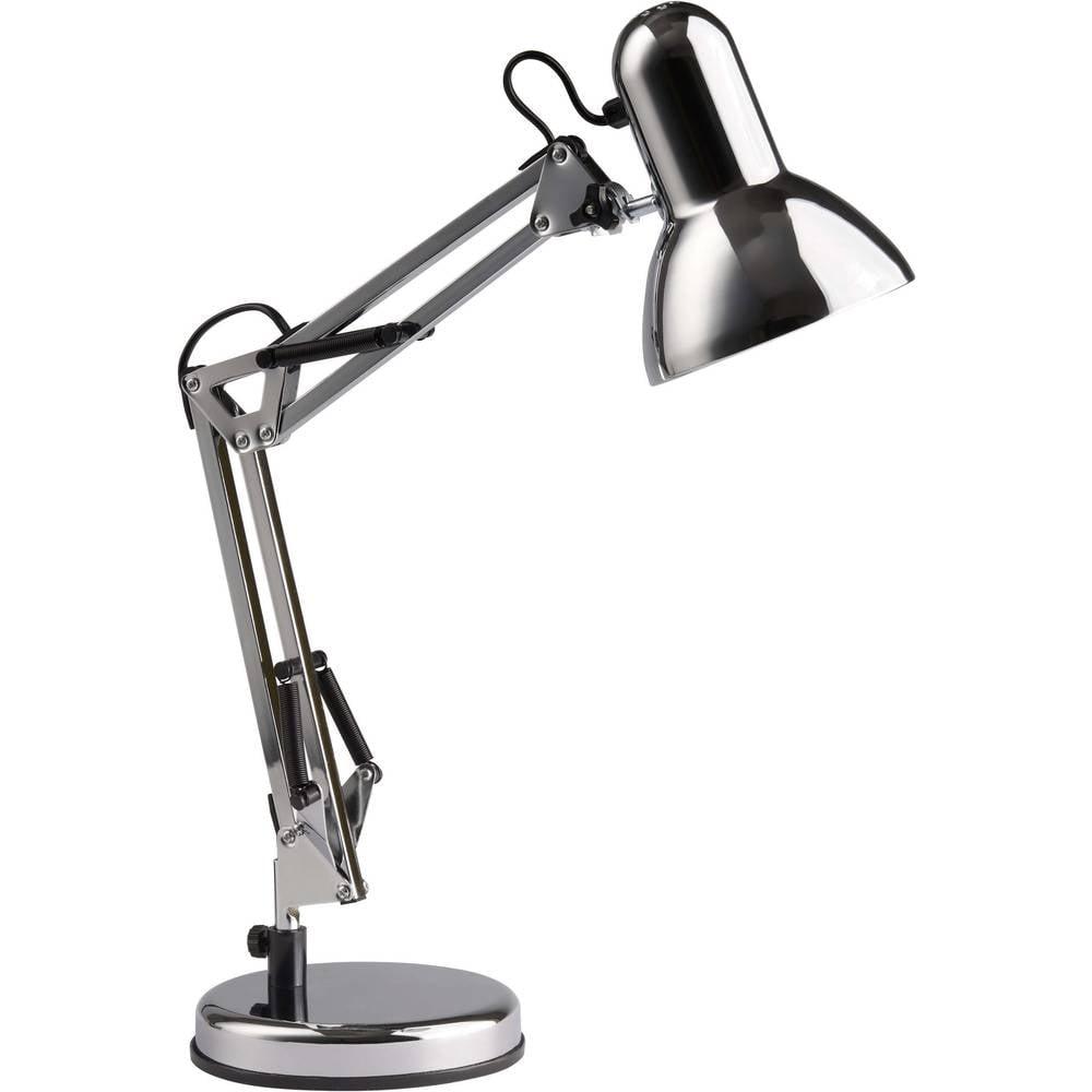Brilliant Henry stolní lampa úsporná žárovka, žárovka E27 40 W chrom