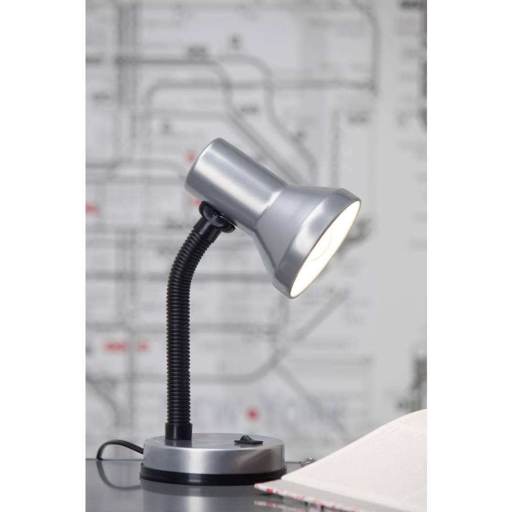 Brilliant Junior stolní lampa úsporná žárovka, žárovka E27 40 W titan