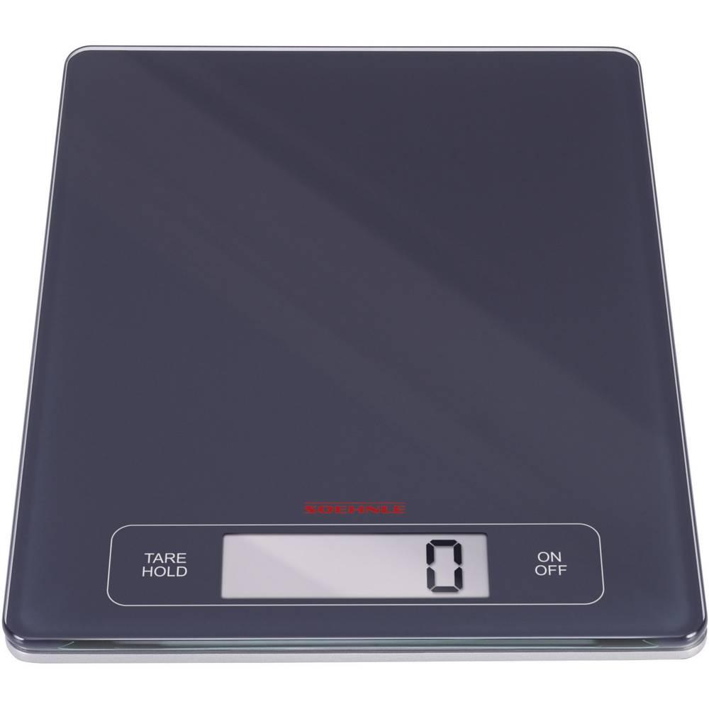 Soehnle KWD PAGE Profi kuchyňská váha digitální Max. váživost=15 kg černá