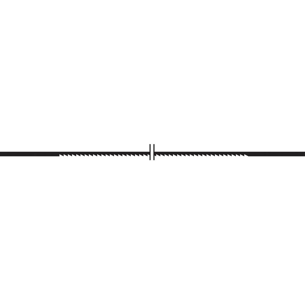 Proxxon Micromot 28117 12 ks Pilový list Supercut na dřevo, s normálním ozubením. Pro měkké a tvrdé dřevo, plast, plexisklo a měkké barevné kovy