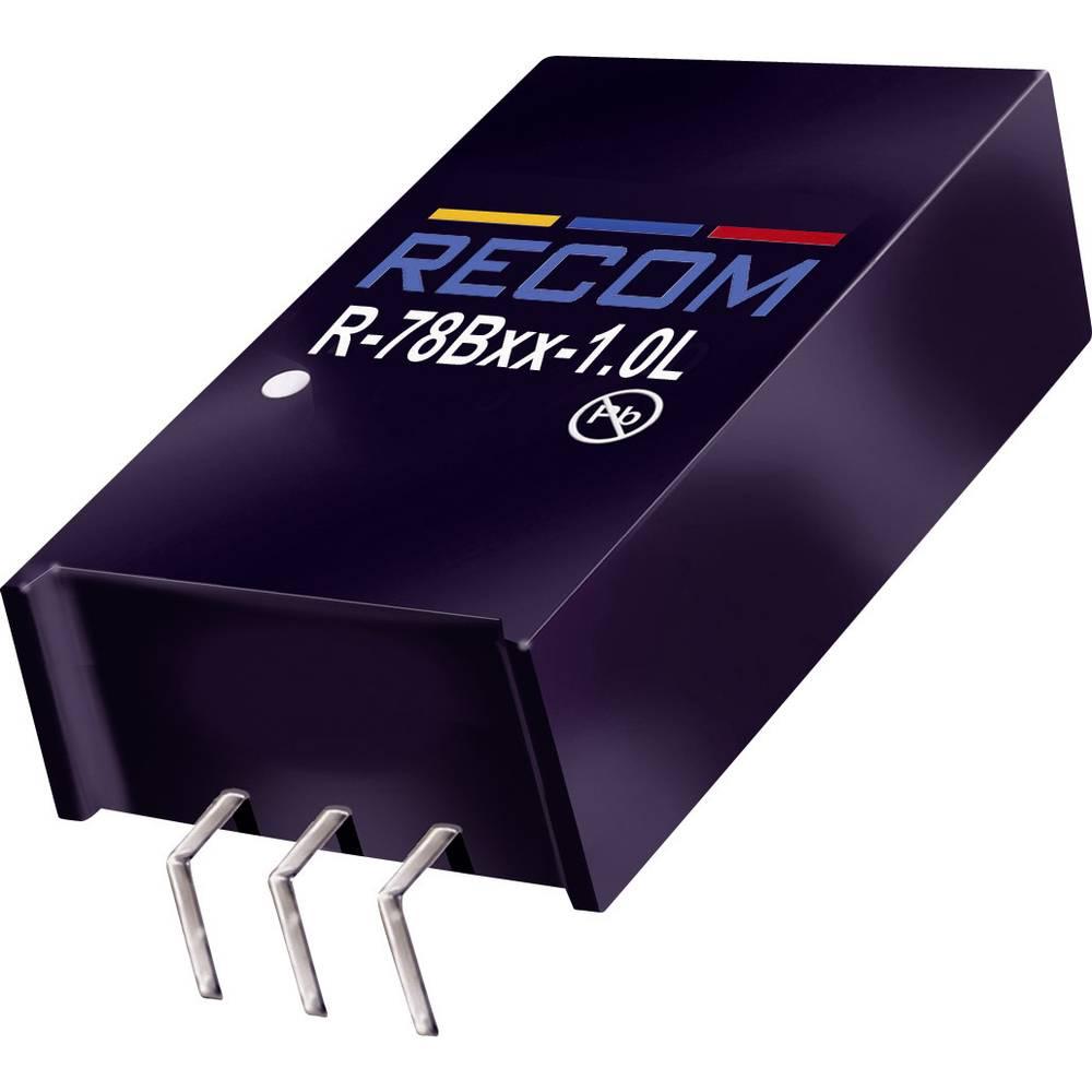 RECOM R-78HB5.0-0.5L DC/DC měnič napětí do DPS 72 V/DC 5 V/DC 0.5 A 2.5 W Počet výstupů: 1 x