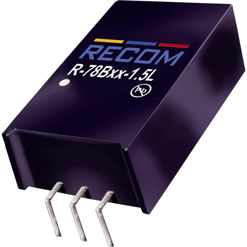 RECOM R-78B5.0-1.5L DC/DC měnič napětí do DPS 5 V/DC 1.5 A 7.5 W Počet výstupů: 1 x