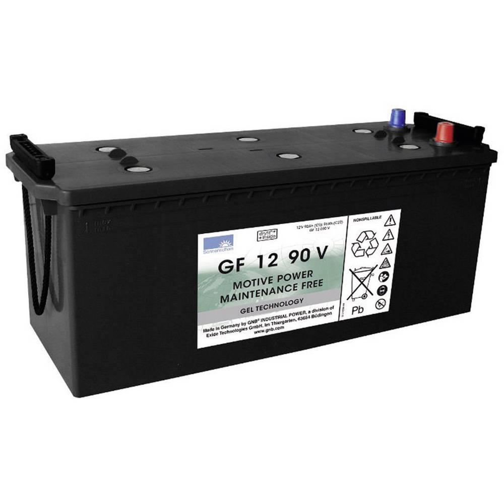 GNB Sonnenschein GF 12 090 V olověný akumulátor 12 V 90 Ah olověná gelová (š x v x h) 513 x 219 x 189 mm konický konektor bezúdržbové
