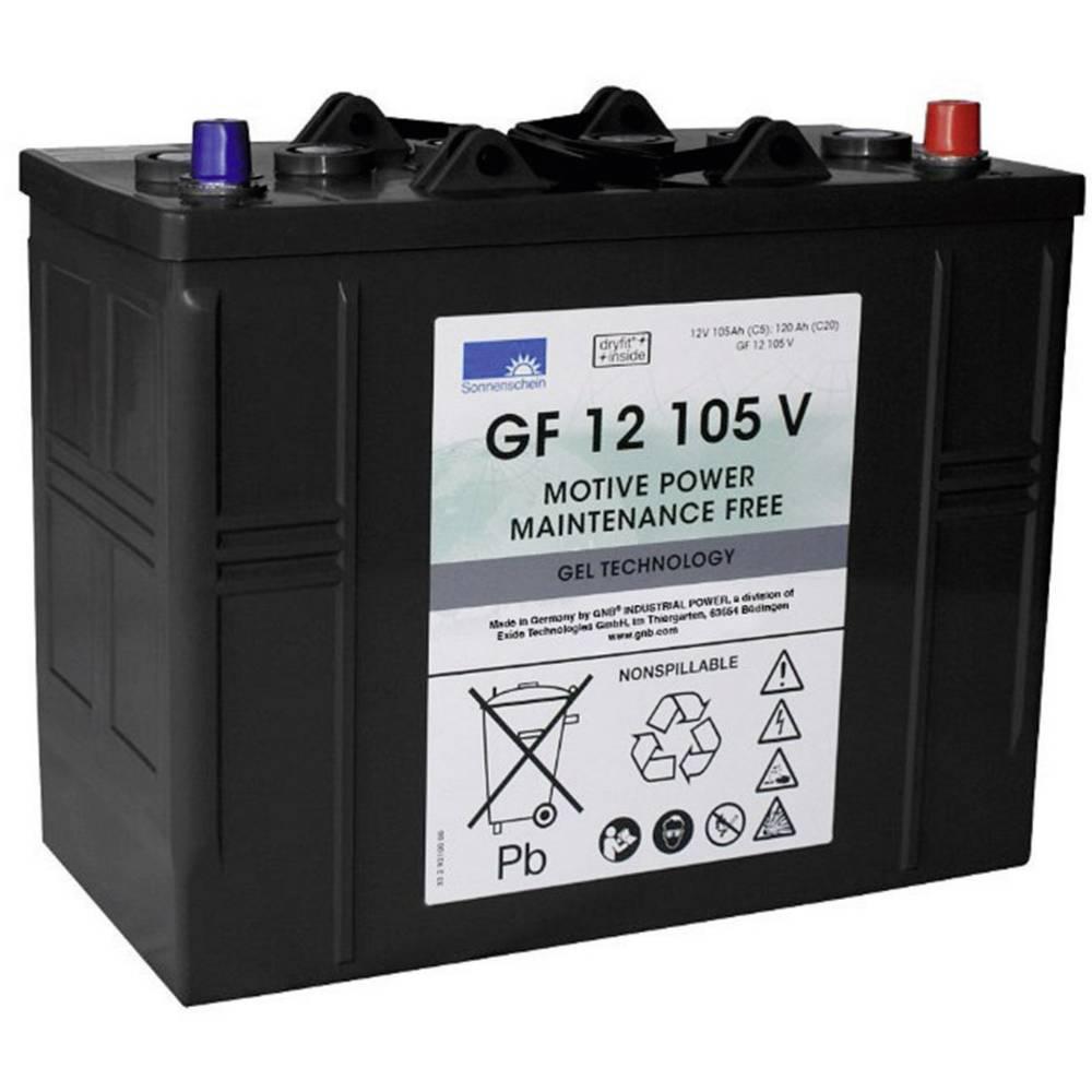 GNB Sonnenschein GF 12 105 V olověný akumulátor 12 V 105 Ah olověná gelová (š x v x h) 345 x 283 x 174 mm konický konektor bezúdržbové
