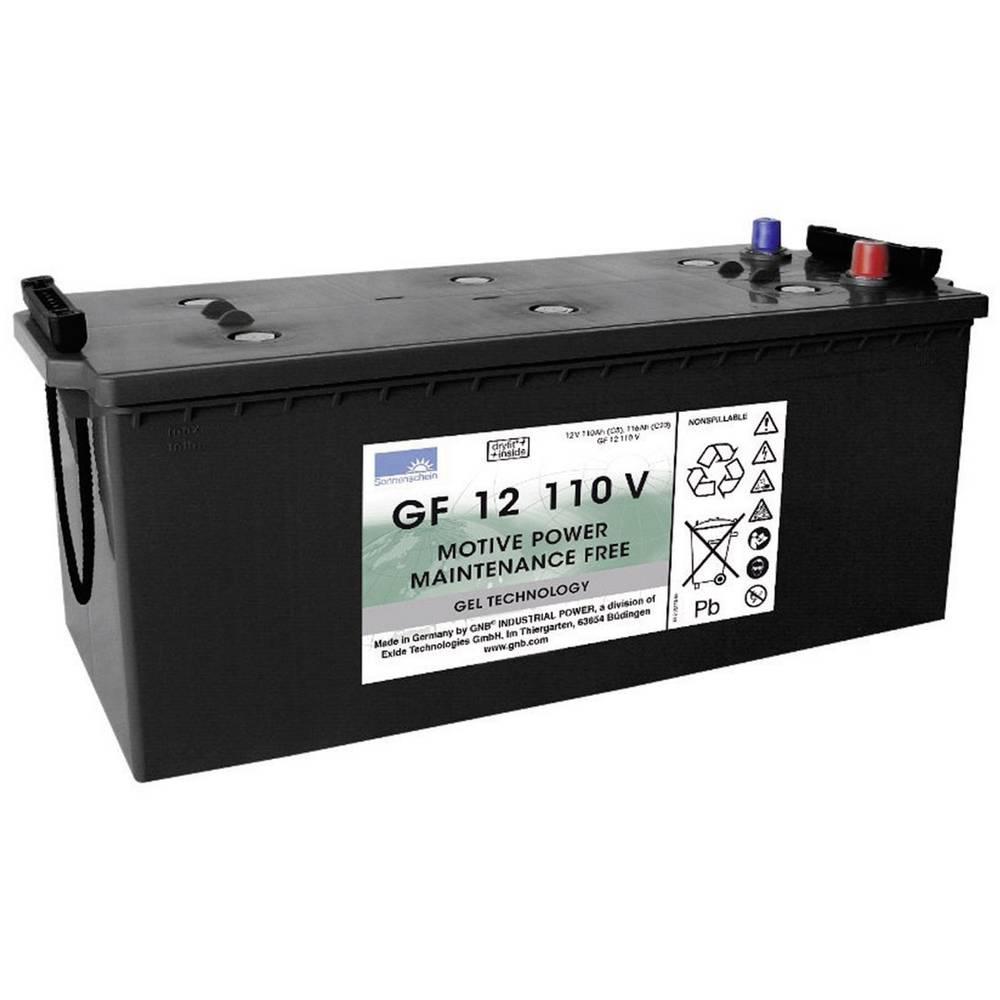 GNB Sonnenschein GF 12 110 V olověný akumulátor 12 V 110 Ah olověná gelová (š x v x h) 513 x 219 x 223 mm konický konektor bezúdržbové
