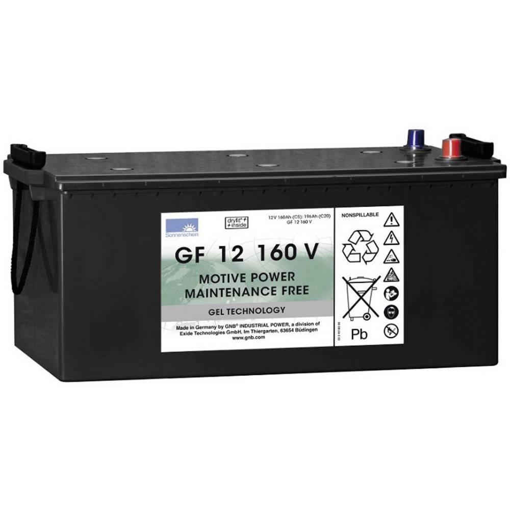 GNB Sonnenschein GF 12 160 V olověný akumulátor 12 V 160 Ah olověná gelová (š x v x h) 518 x 238 x 274 mm konický konektor bezúdržbové