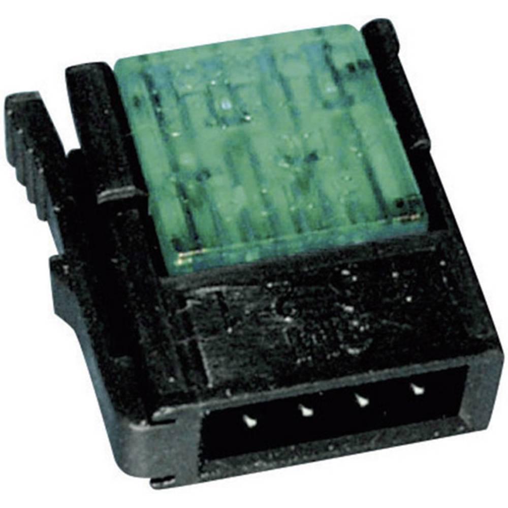 3M 37104-3101-000 FL nízkonapěťový konektor, průřez kabelu: 0.14-0.25 mm², Pólů: 4, červená, 1 ks