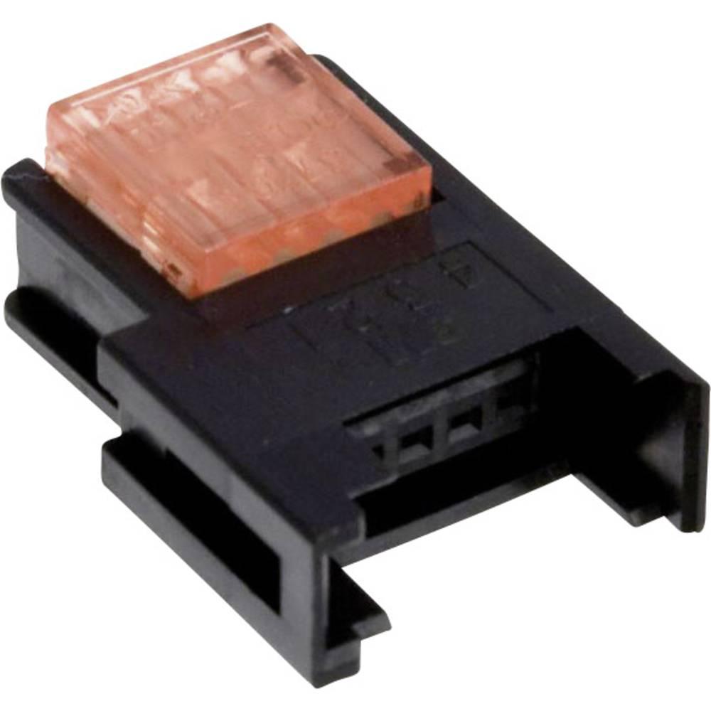 3M 37304-3101-000 FL nízkonapěťový konektor, průřez kabelu: 0.14-0.25 mm², Pólů: 4, červená, 1 ks