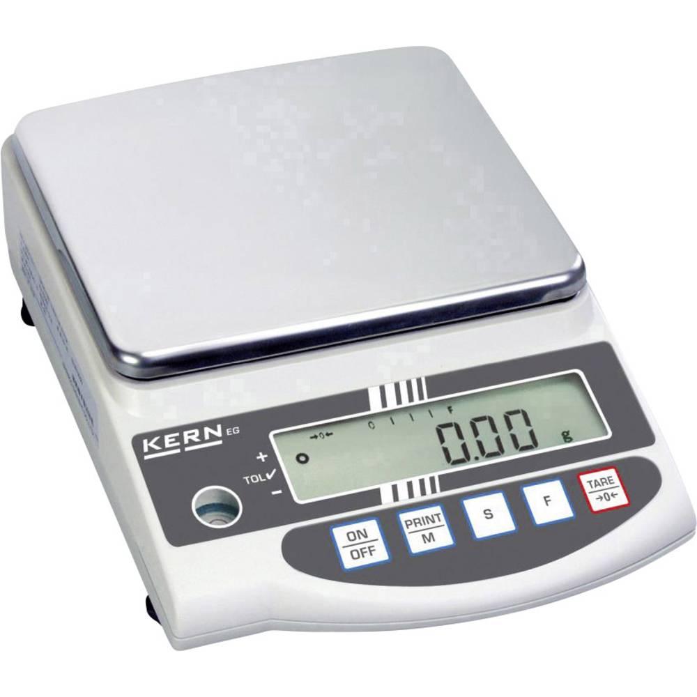 Kern EG 4200-2NM přesná váha Max. váživost 4.2 kg Rozlišení 0.01 g 230 V stříbrná