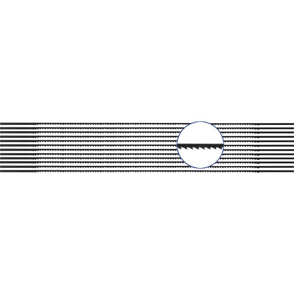 810440 12 ks Pilový plátek pro měkké a tvrdé dřevo, plast, plexisklo 12-pack
