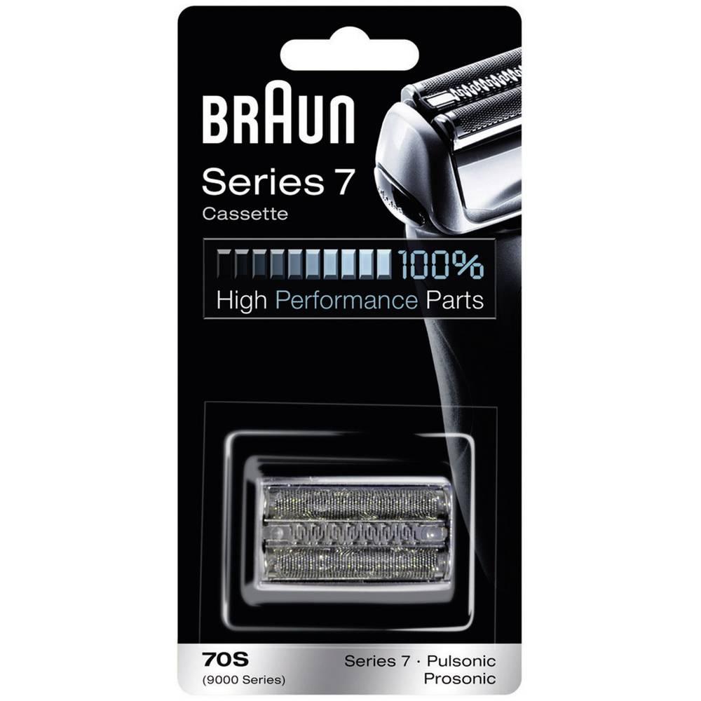 Braun 70S holicí hlava stříbrná 1 sada