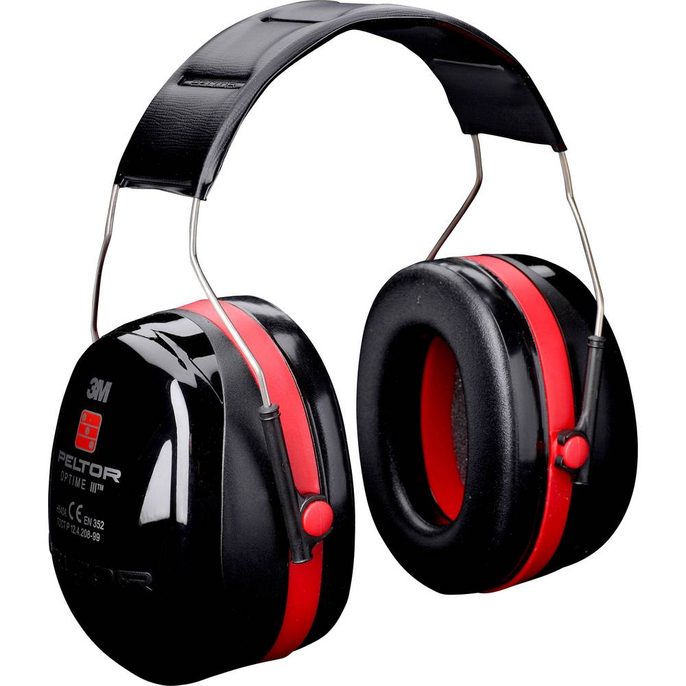 3M Peltor OPTIME III H540A mušlový chránič sluchu 35 dB 1 ks