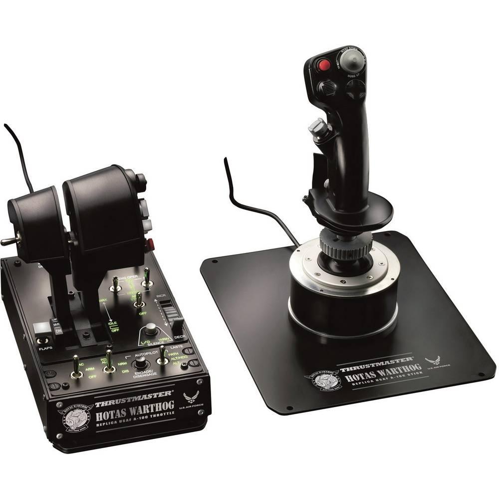 Thrustmaster Hotas Warthog joystick k leteckému simulátoru USB PC černá