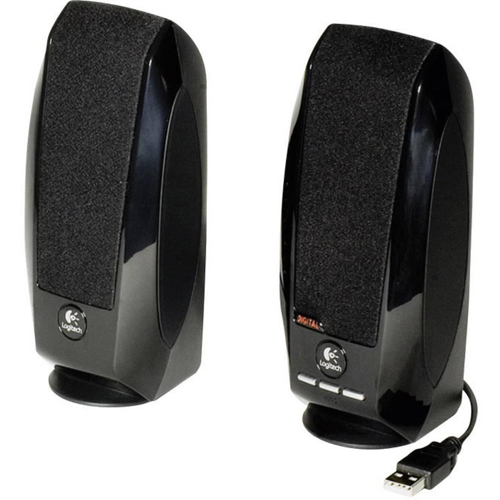 Logitech S-150 2.0 PC reproduktory kabelový 1.2 W černá