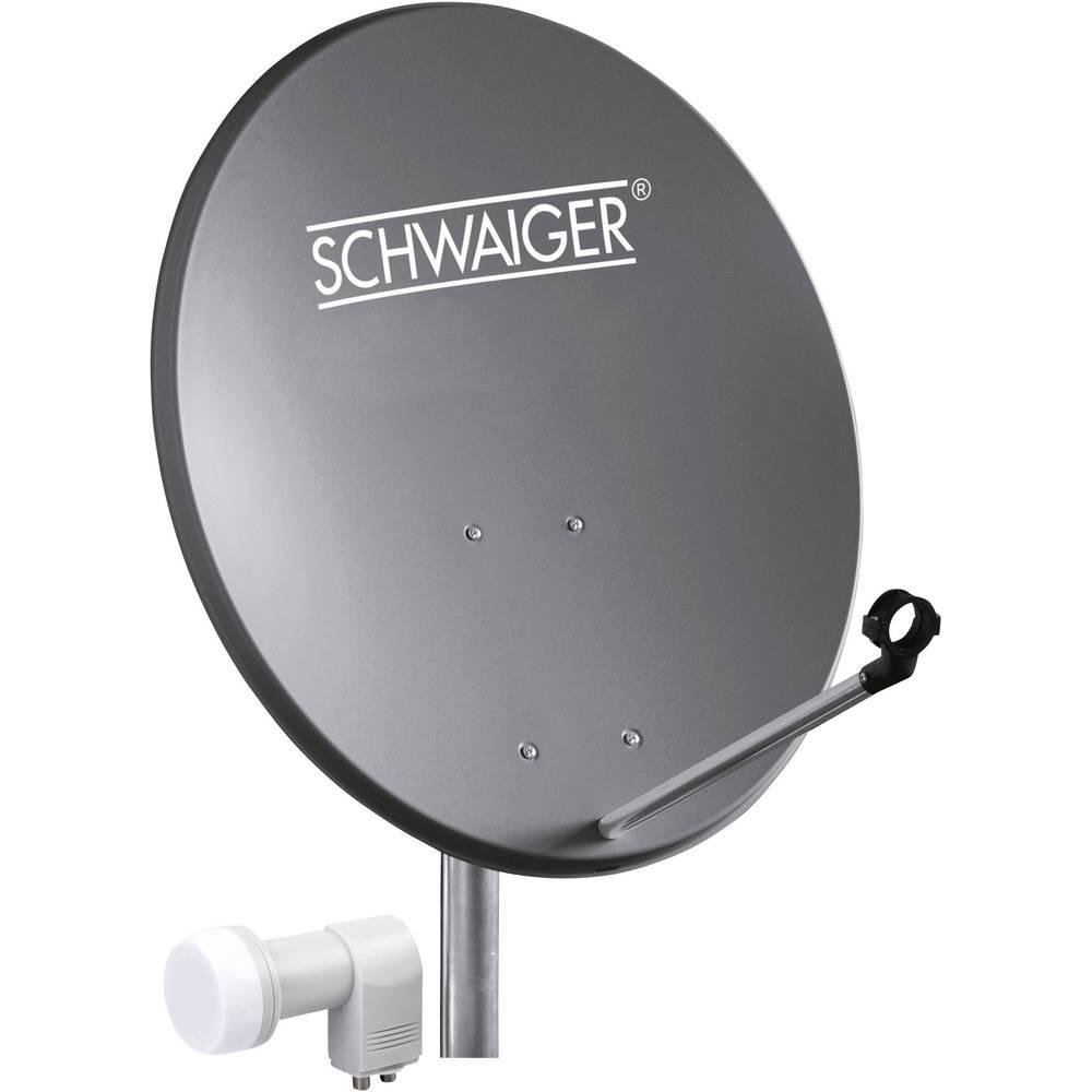 Schwaiger SPI5501SET2 satelit bez přijímače Teilnehmer-Anzahl 2