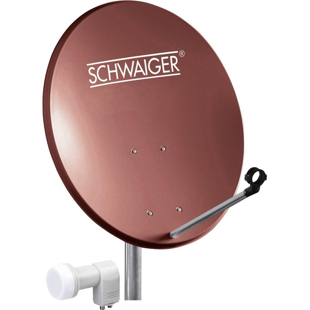 Schwaiger SPI5502SET2 satelit bez přijímače Teilnehmer-Anzahl 2