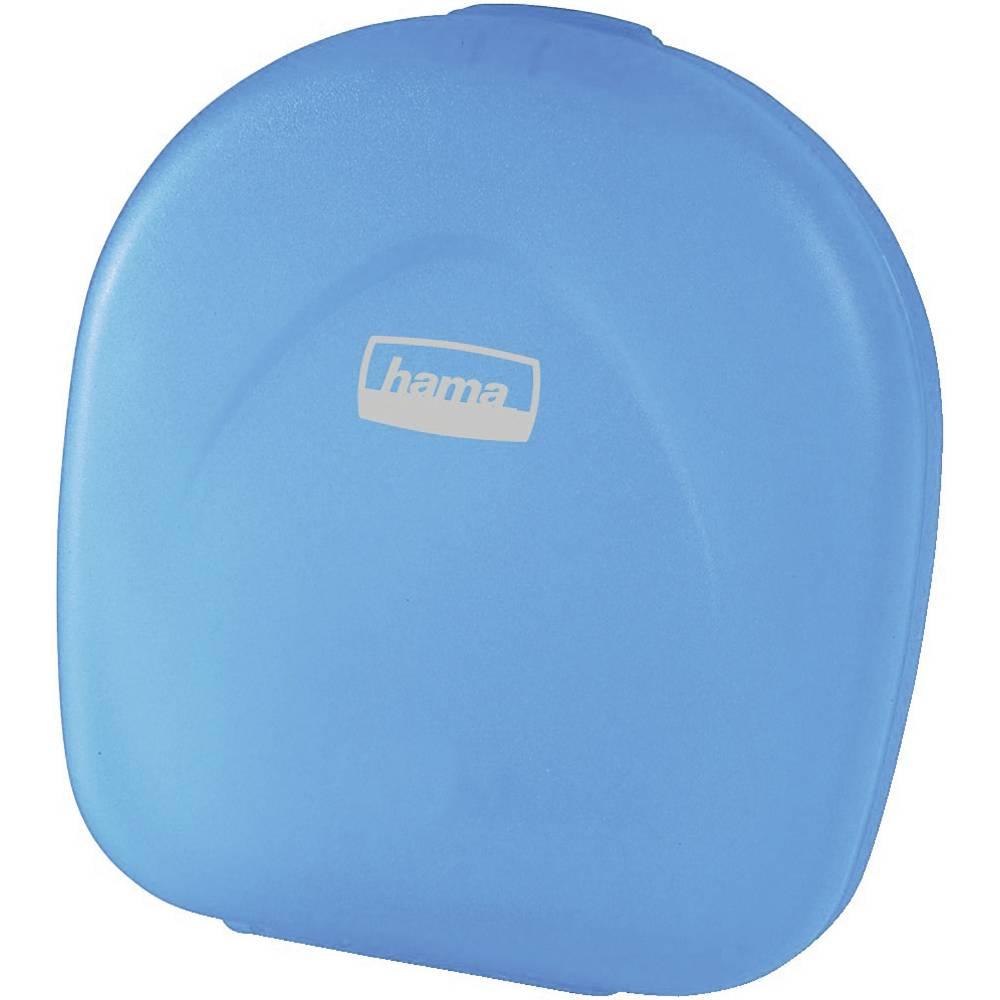 Hama taška na CD 24 CD/DVD/Blu-ray plast, polypropylen modrá, transparentní 1 ks (š x v x h) 145 x 155 x 38 mm 51334