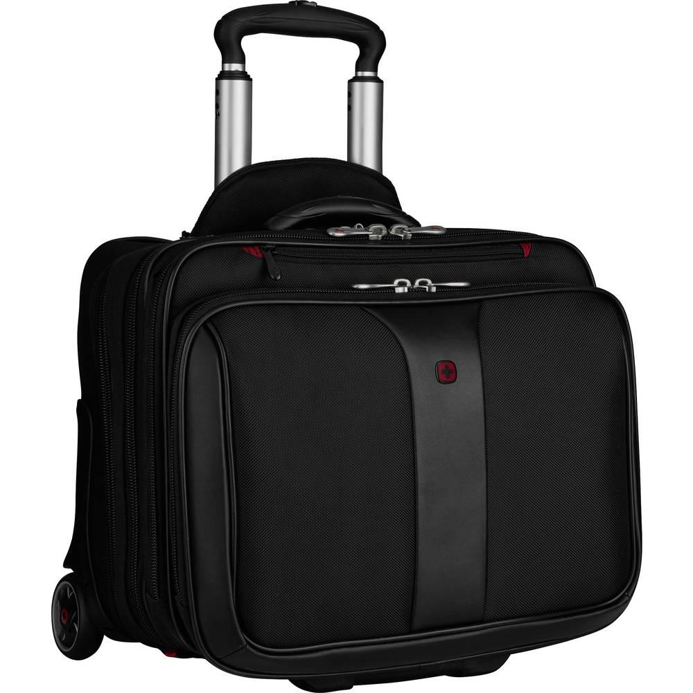 """Wenger kufřík na kolečkách pro notebooky Patriot s max.velikostí: 43,9 cm (17,3"""") černá"""