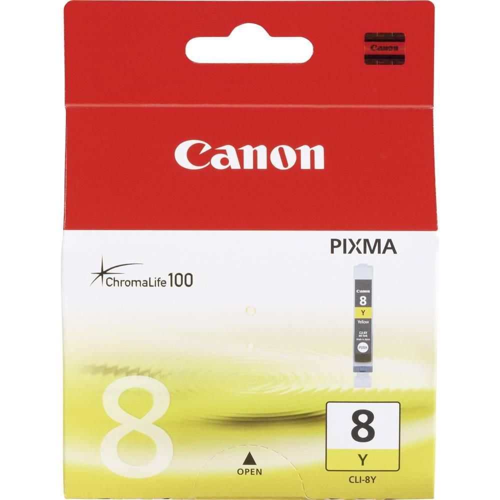 Canon Inkoustová kazeta CLI-8Y originál žlutá 0623B001 náplň do tiskárny