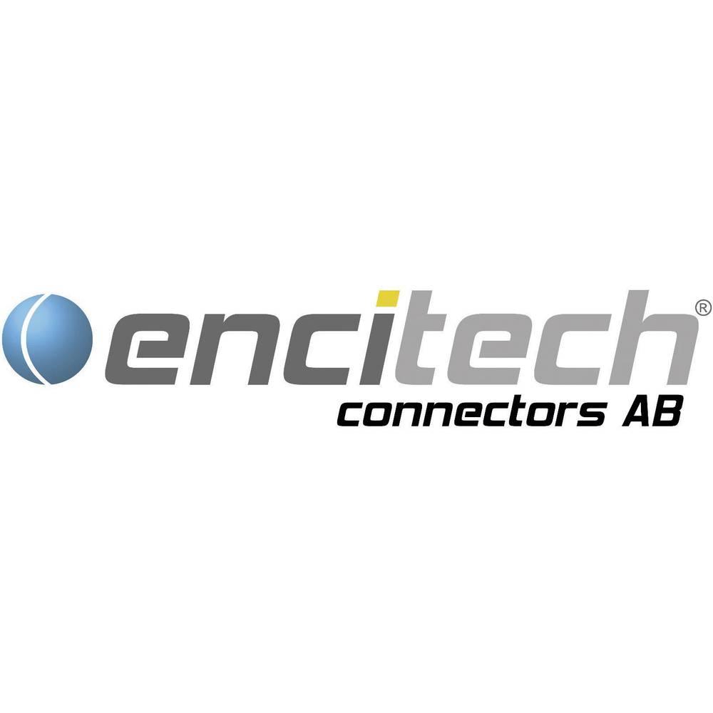 encitech DB09-SS-K 2101-0181-11 D-SUB zásuvková lišta 180 ° Pólů: 9 pájecí kalíšek 1 ks Tray