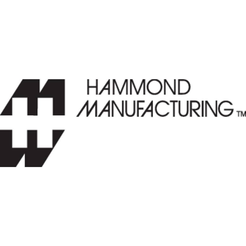 Hammond Electronics víčko pouzdra na DIN lištu 52 x 10 x 10 polykarbonát světle zelená 1 ks