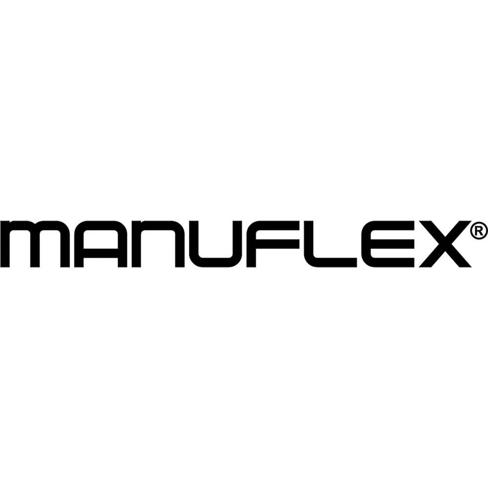 Manuflex AU5507.2001 Kompletní pracovní stůl základní Univerzální standardní s plastové desky, Šxhxv = 1500 x 800 x 760-870 mm Barva: červenooranžová (RAL 2001)