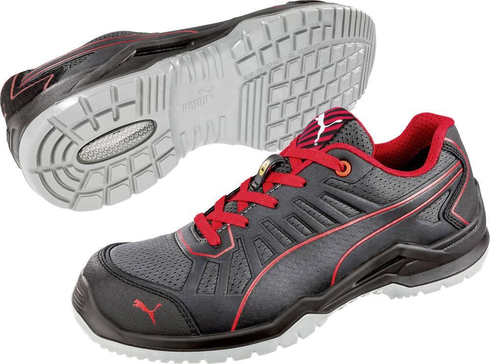 PUMA Safety Fuse TC Red Low 644200 48 ESD sikkerhedssko S1P Størrelse: 48 Sort, Rød 1 pair