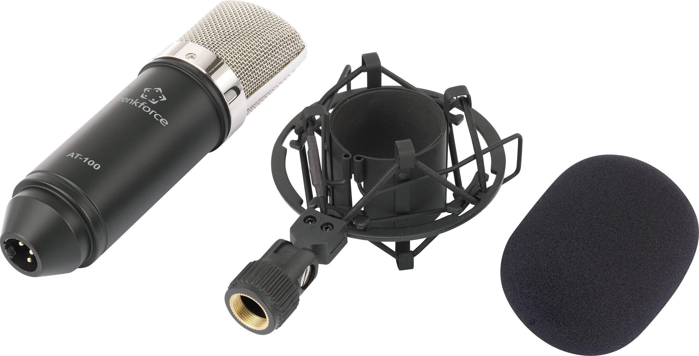 kondensatormikrofon tilslutning