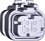 Bøsningskabinet Automotive AMPSEAL 16