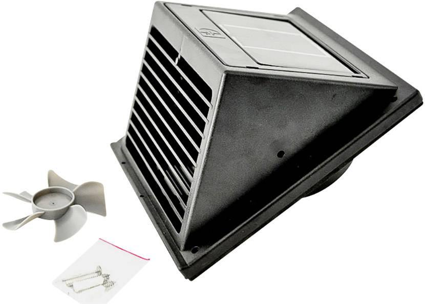Kæmpestor Phaesun Fresh Breeze 380123 Solcelle-ventilationssy QC55