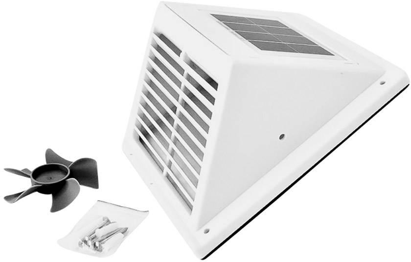 Usædvanlig Phaesun Fresh Breeze 380124 Solcelle-ventilationssy GR78