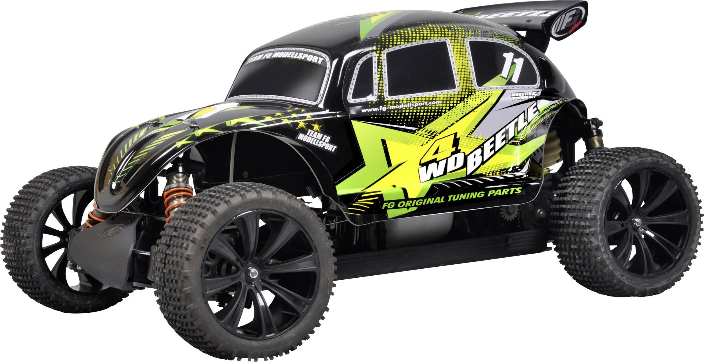 rc modelbil buggy 1 6 fg modellsport beetle pro 26 cm benzin 4wd rtr 2 4 ghz. Black Bedroom Furniture Sets. Home Design Ideas