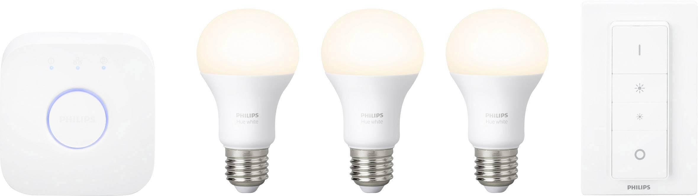 5473b0e64a6 Philips Lighting Hue Startpakke E27 9 W Varm hvid 3 stk ...