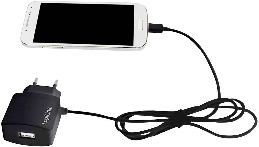 LogiLink Power Adapter Micro PA0146 USB oplader Stikdåse