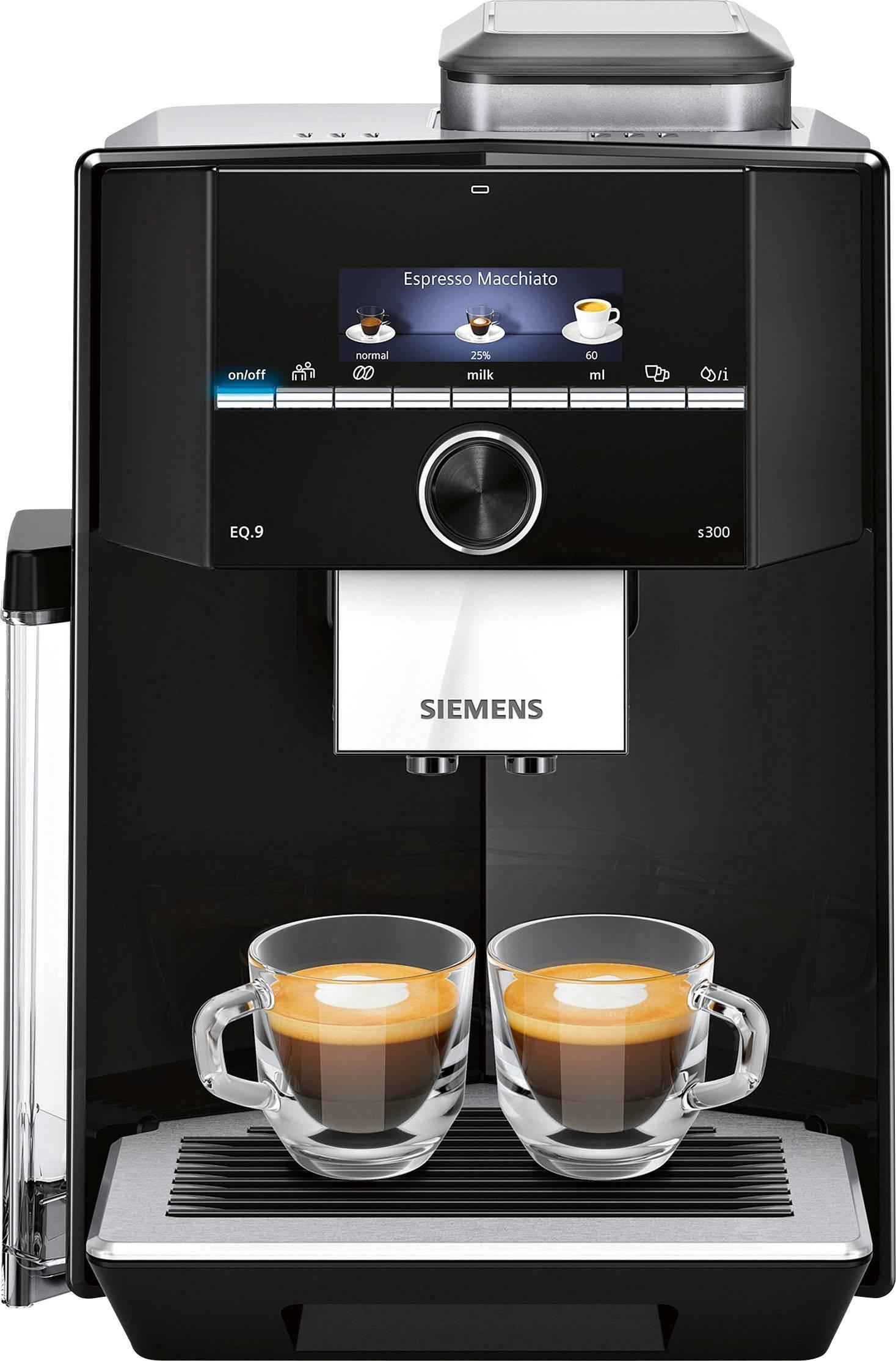 Lækker Fuldautomatisk kaffemaskine Siemens EQ9 S300 Sort QU-77