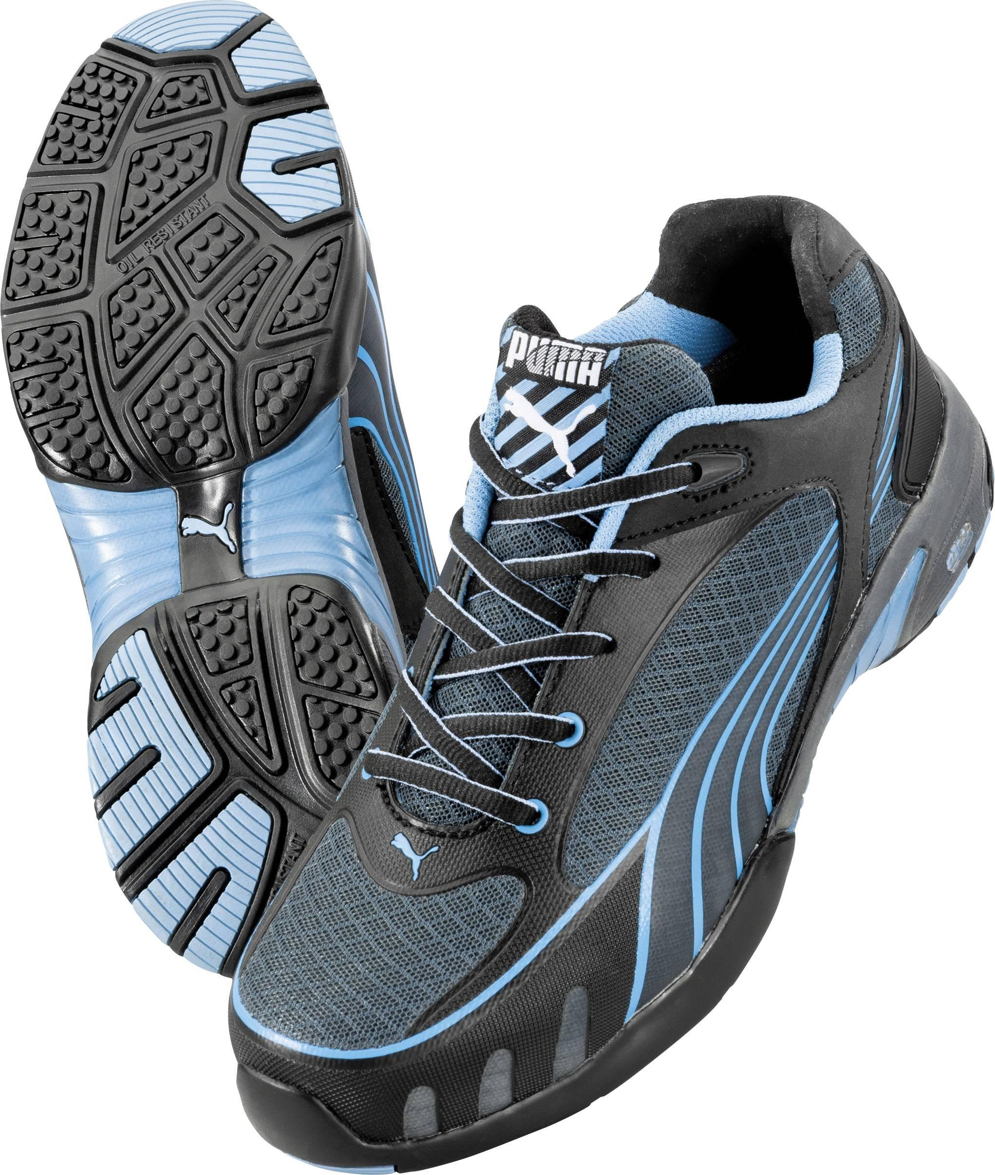 PUMA Safety Fuse Motion Blue Wns Low 642820 Sikkerhedssko S1 Størrelse: 38 Sort, Blå 1 pair